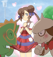 Trainer and pokemon, that love by marshtompkd