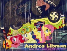 Thank You from Andrea Libman by Sketchywolf-13