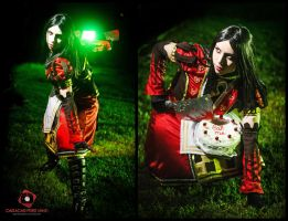 Alice Madness Returns Royal suit by gyanax