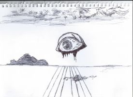 Salvador Dali EYE by 69ingChipmunkzz