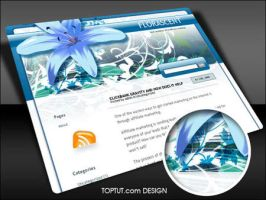 Flora Scent wp theme by Loreleike