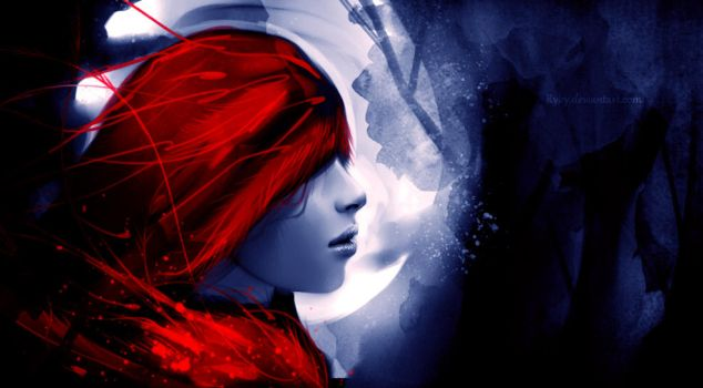 red riding hood by ryky