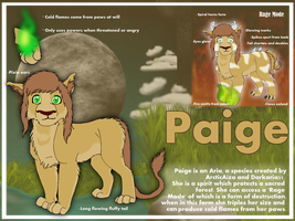 Paige Ref by Iva-Inkling