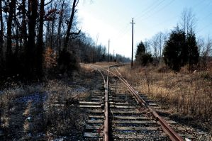 Left or Right Train Track 2 by FairieGoodMother
