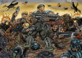 Gears of War 3 by Pepowned