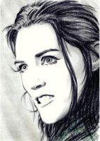 Katie McGrath mini-portrait by whu-wei