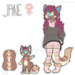 Jane Reference Sheet [ 2015 ] by Toxic-Justice