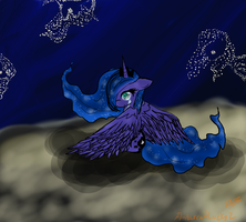 Luna Won't You Cry For Me? by Ambercatlucky2