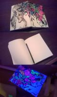 Fluo sketchbook by Hitman47bl