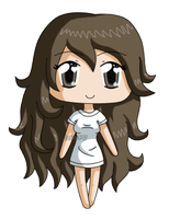 [Commission] Mini chibi Charlotte by izka197