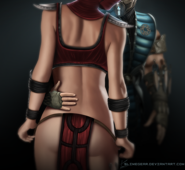 Skarlet-SubZero: Shadow Seduction by MinusZer0