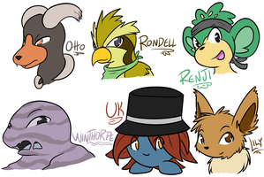 PMD . Stream Doodles p4 by Hawkein