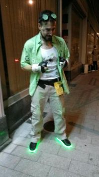 Halloween costume - The Riddler by James--C