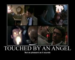 SPN: Angel Touching by dumbsmartperson