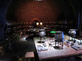 HARRY POTTER studio sets tour ,hogwarts props by Sceptre63