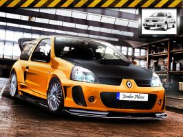 Renault Clio Virtual Tuning by JoabeDesign