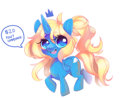 $20 Pony Commissions! by ehbi
