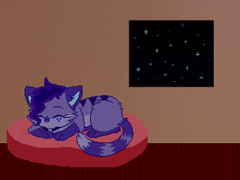 Good night by VioletKat-214