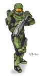 Master Chief by TPceebee
