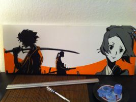 samurai champloo by flow1983