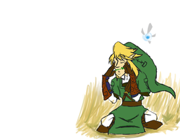 scribbly Link by absolutelycancerous