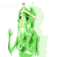 slime princess by Pugsin