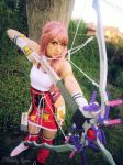 Final Fantasy XIII-2 Cosplay - Serah 2 by MelodyxNya