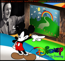 Tributo a Walt Disney by Onbush