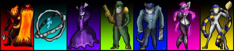 COMM///7 DEADLY ELITES by KnightSlayer115