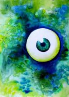 Watercolour eye by 05Na