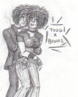 Human Todd and Brooke by shadowpunk93