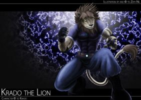 Commission - Krado the Lion by zephyron