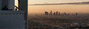 Sunrise - Los Angeles by geometricphotos