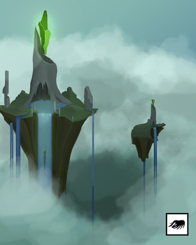 Floating Islands by marky1212