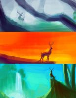bambi color key by skyknightnd