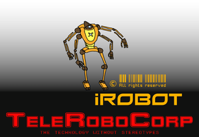 polyarm's anthroid iRobot by DiggerShrew