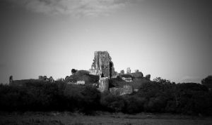 a castle in view by awjay