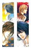 Death Note_bookmarks by SheCow