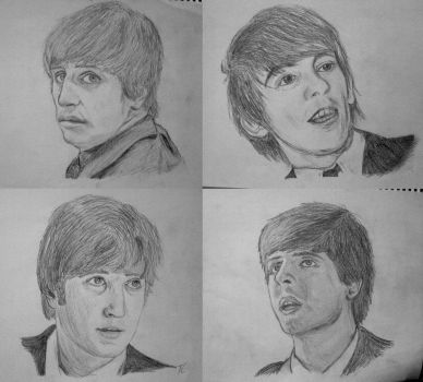 The Beatles by tomchristie22