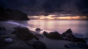 sunset sliver by NWunseen