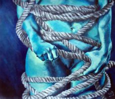 Shackled and bound by Skorpix