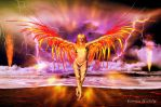 FIRE ANGEL by KerensaW