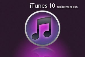 iTunes 10 replacement icon by Grooviex