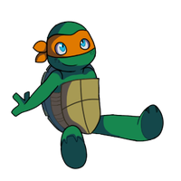 itty bitty mikey by SecretOfTheRings