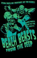 Beach Beasts from the Deep!!! by zombie-you