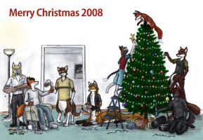 Merry Christmas 2008 by wannabemustangjockey