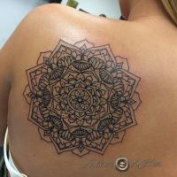Shoulder Mandala by adammdesigns