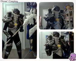 WIP Onslaught armor ( World of Warcraft) by DrossLoveYaoi