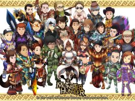 In the World Of Monster Hunter by ashmish