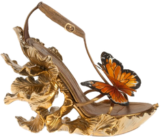 Butterfly shoe png stock by DoloresMinette